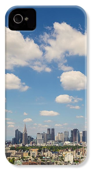 Tokyo 31 IPhone 4 Case by Tom Uhlenberg