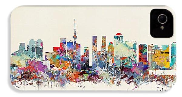 Tokyo Skyine IPhone 4 / 4s Case by Bri B