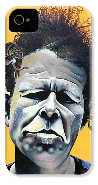 Tom Waits - He's Big In Japan IPhone 4 / 4s Case by Kelly Jade King