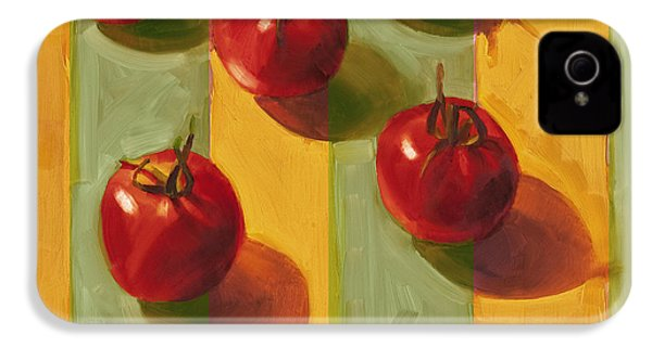 Tomatoes IPhone 4 / 4s Case by Cathy Locke