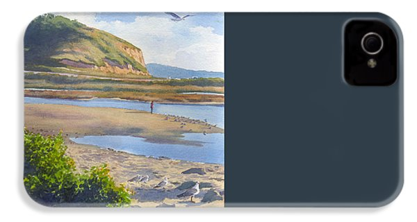 Torrey Pines Inlet IPhone 4 / 4s Case by Mary Helmreich