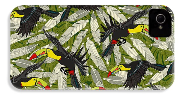 Toucan Jungle IPhone 4 Case