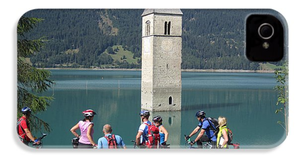 Tower In The Lake IPhone 4 Case