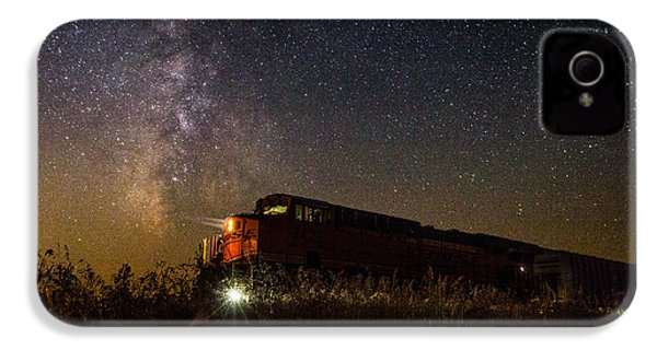 Train To The Cosmos IPhone 4 Case by Aaron J Groen