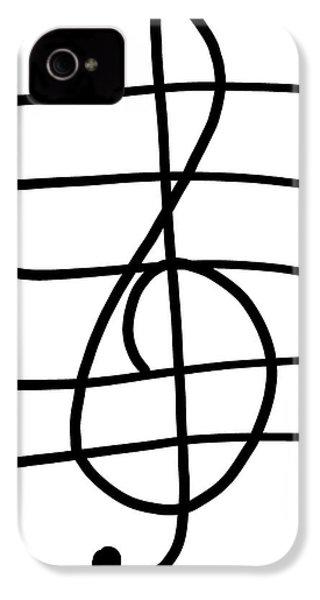 Treble Clef IPhone 4 Case