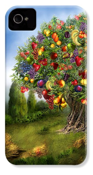 Tree Of Abundance IPhone 4 Case