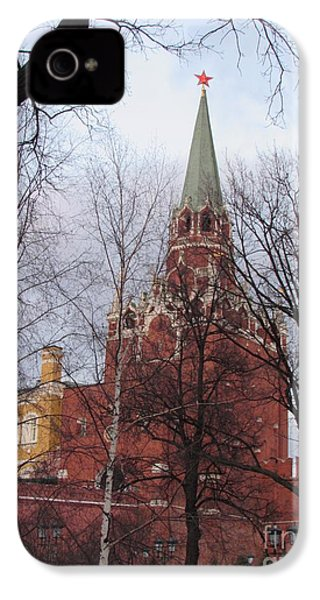 Trinity Tower At Dusk IPhone 4 Case by Anna Yurasovsky