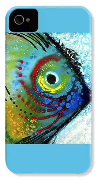 Tropical Fish - Art By Sharon Cummings IPhone 4 Case by Sharon Cummings