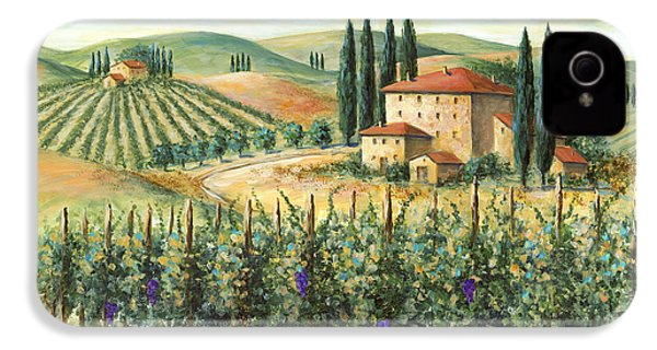 Tuscan Vineyard And Villa IPhone 4 Case