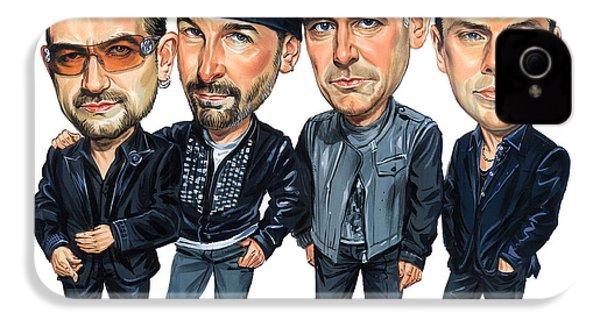 U2 IPhone 4 / 4s Case by Art
