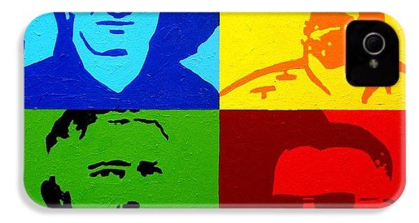 U2 IPhone 4 / 4s Case by John  Nolan