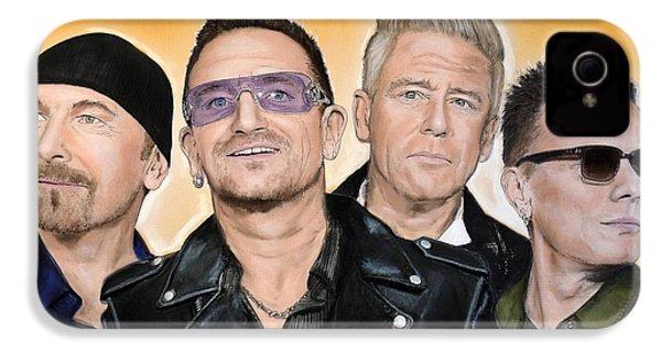 U2 IPhone 4 / 4s Case by Melanie D