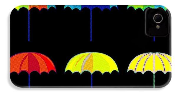 Umbrella Ella Ella Ella IPhone 4 Case by Florian Rodarte