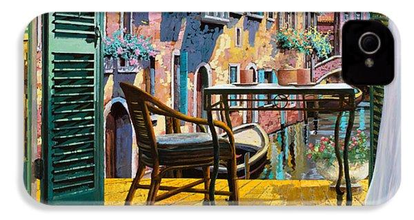 Un Soggiorno A Venezia IPhone 4 Case by Guido Borelli