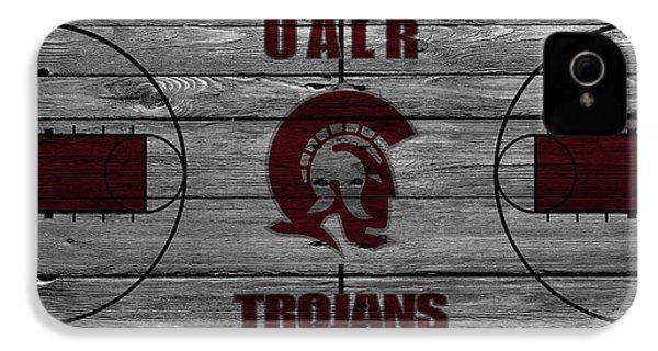 University Of Arkansas At Little Rock Trojans IPhone 4 / 4s Case by Joe Hamilton