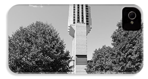 University Of Michigan Lurie Bell Tower IPhone 4 / 4s Case by University Icons