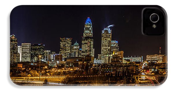 Uptown Charlotte Panorama IPhone 4 Case