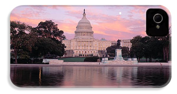 Us Capitol Washington Dc IPhone 4 Case by Panoramic Images