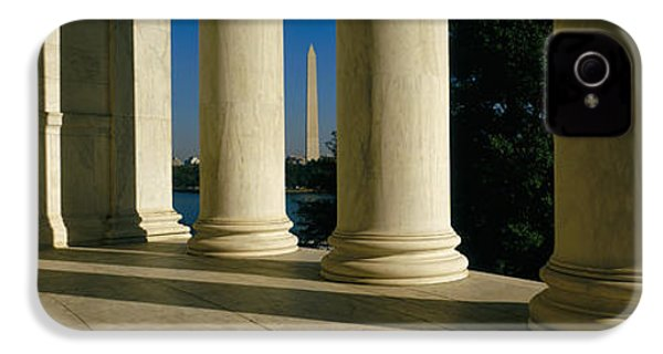 Usa, District Of Columbia, Jefferson IPhone 4 / 4s Case by Panoramic Images