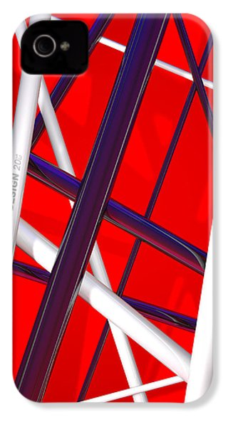 Van Halen 3d Iphone Cover IPhone 4 / 4s Case by Andi Blair