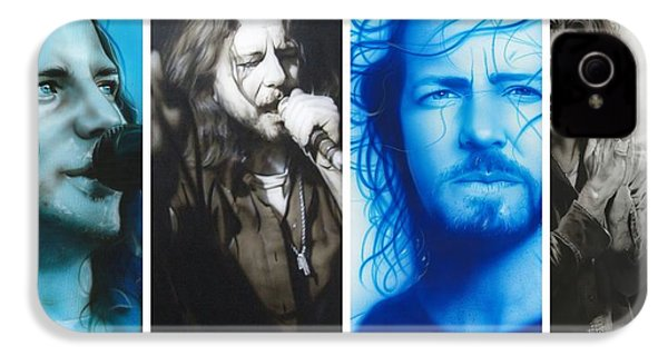 Eddie Vedder - ' Vedder Mosaic I ' IPhone 4 Case