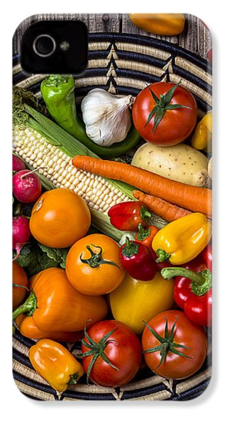 Vegetable Basket    IPhone 4 Case by Garry Gay