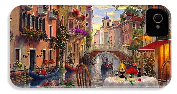 Venice Al Fresco IPhone 4 Case by Dominic Davison