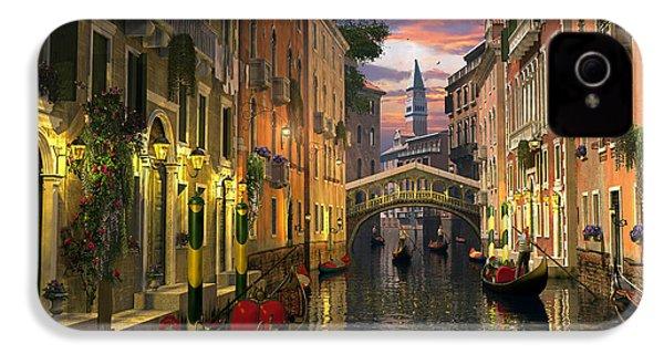 Venice At Dusk IPhone 4 Case by Dominic Davison