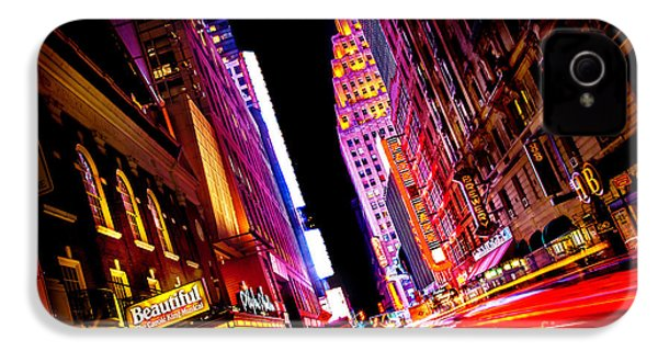 Vibrant New York City IPhone 4 Case