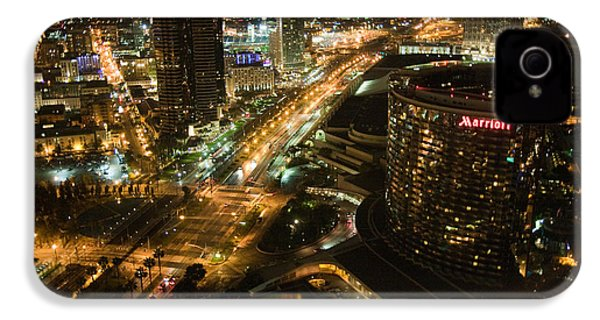 IPhone 4 Case featuring the photograph View From Top Of The Hyatt by Nathan Rupert