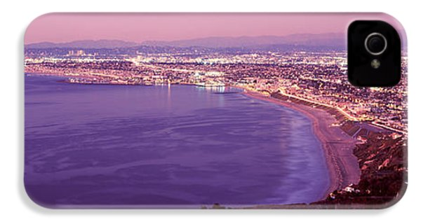 View Of Los Angeles Downtown IPhone 4 / 4s Case by Panoramic Images