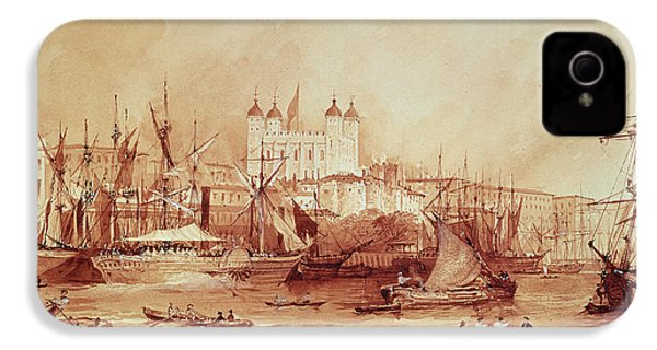 View Of The Tower Of London IPhone 4 Case by William Parrott