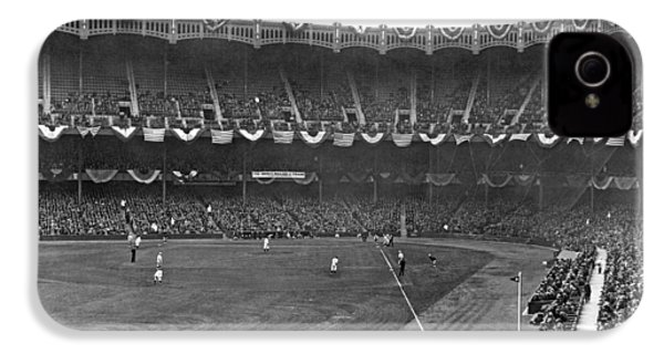 View Of Yankee Stadium IPhone 4 Case by Underwood Archives
