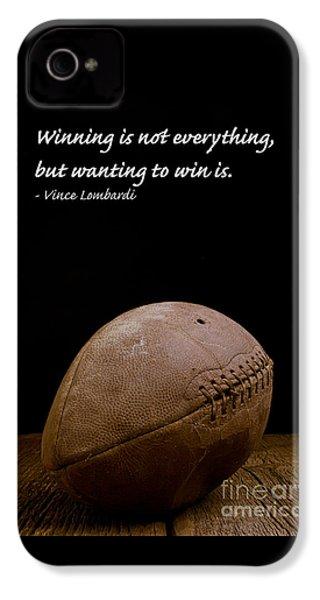 Vince Lombardi On Winning IPhone 4 Case by Edward Fielding