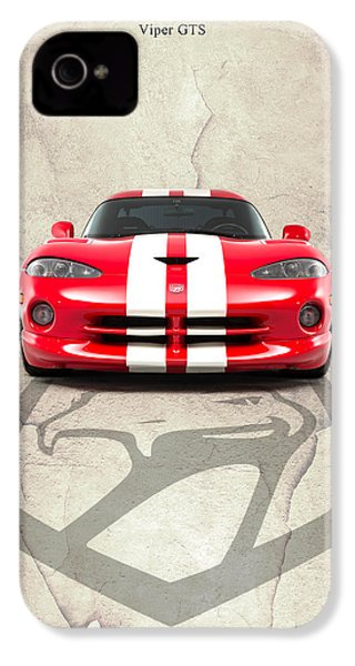 Viper Gts IPhone 4 Case by Mark Rogan