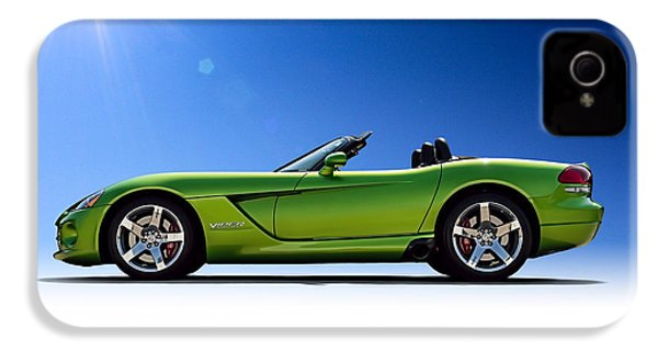 Viper Roadster IPhone 4 Case by Douglas Pittman