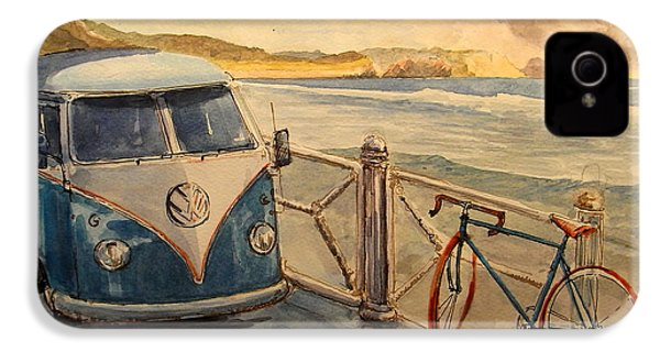 Vw Westfalia Surfer IPhone 4 / 4s Case by Juan  Bosco
