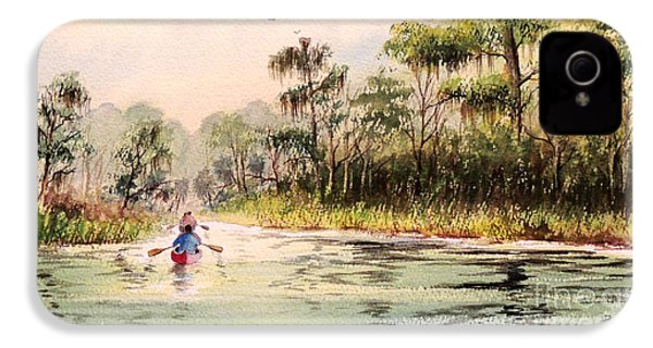 Wacissa River  IPhone 4 Case by Bill Holkham