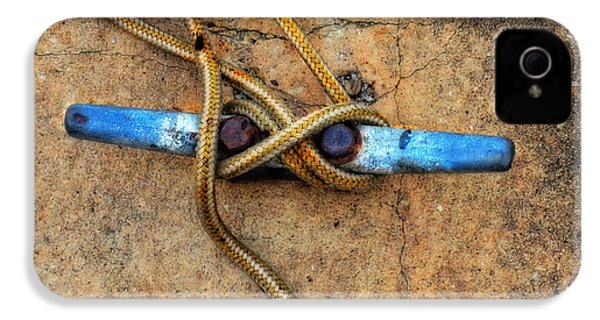 Waiting - Boat Tie Cleat By Sharon Cummings IPhone 4 Case