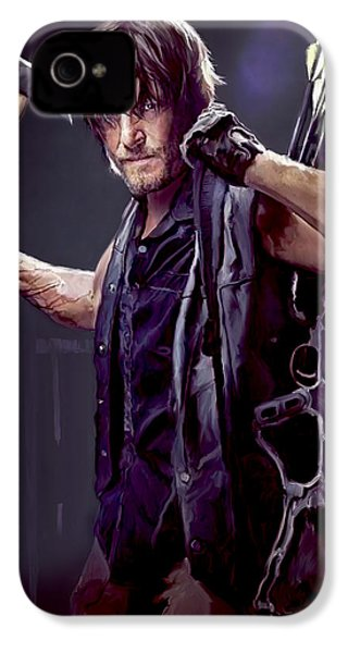 Walking Dead - Daryl Dixon IPhone 4 Case