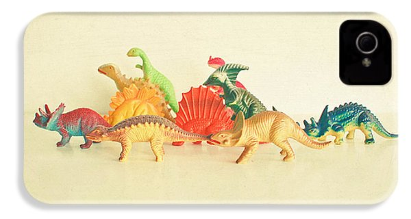 Walking With Dinosaurs IPhone 4 / 4s Case by Cassia Beck