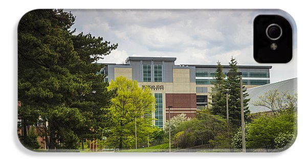 Walkway To Spartan Stadium IPhone 4 Case by John McGraw