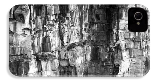 IPhone 4 Case featuring the photograph Wall Of Rock by Miroslava Jurcik