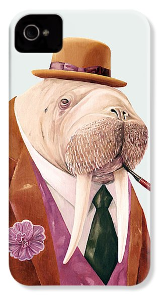 Walrus IPhone 4 Case by Animal Crew