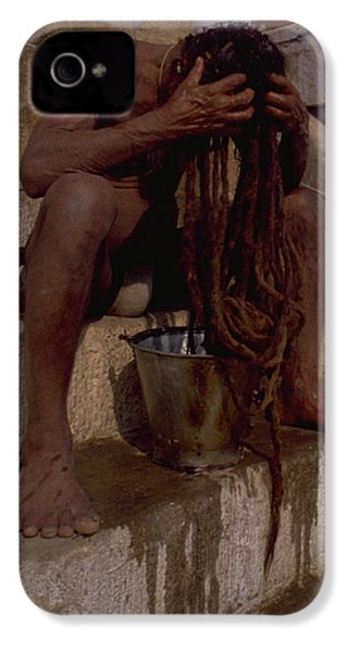 Varanasi Hair Wash IPhone 4 Case