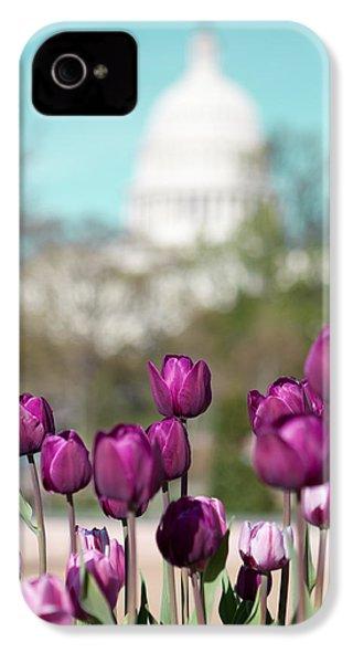 Washington Dc IPhone 4 / 4s Case by Kim Fearheiley