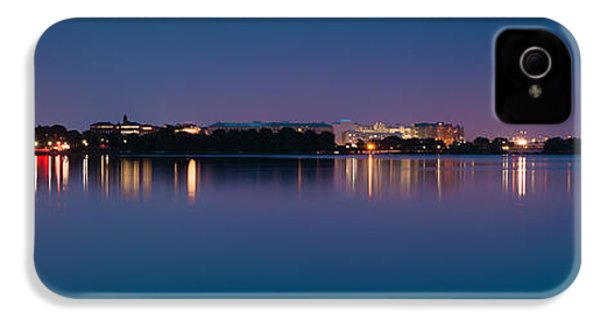 IPhone 4 Case featuring the photograph Washington Skyline by Sebastian Musial