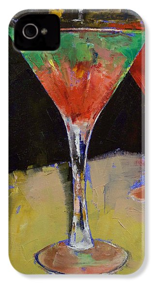 Watermelon Martini IPhone 4 / 4s Case by Michael Creese