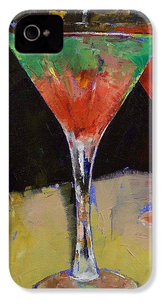 Watermelon Martini IPhone 4 Case by Michael Creese