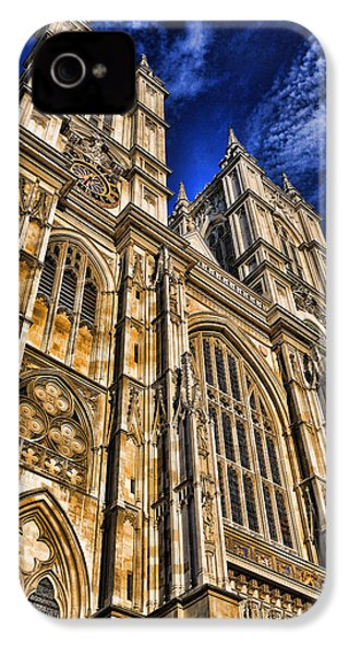 Westminster Abbey West Front IPhone 4 Case by Stephen Stookey